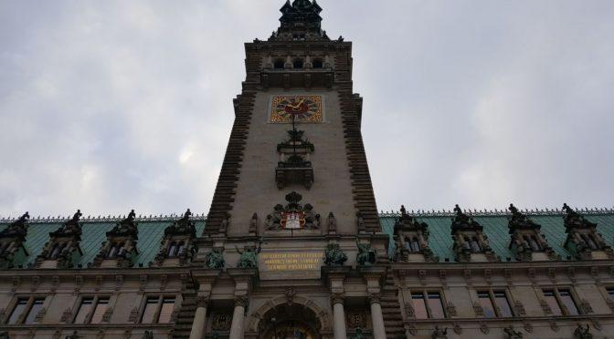 Ausflug der Vorschule zum Hamburger Rathaus