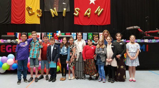 Auftritt beim türkischen Kinderfest