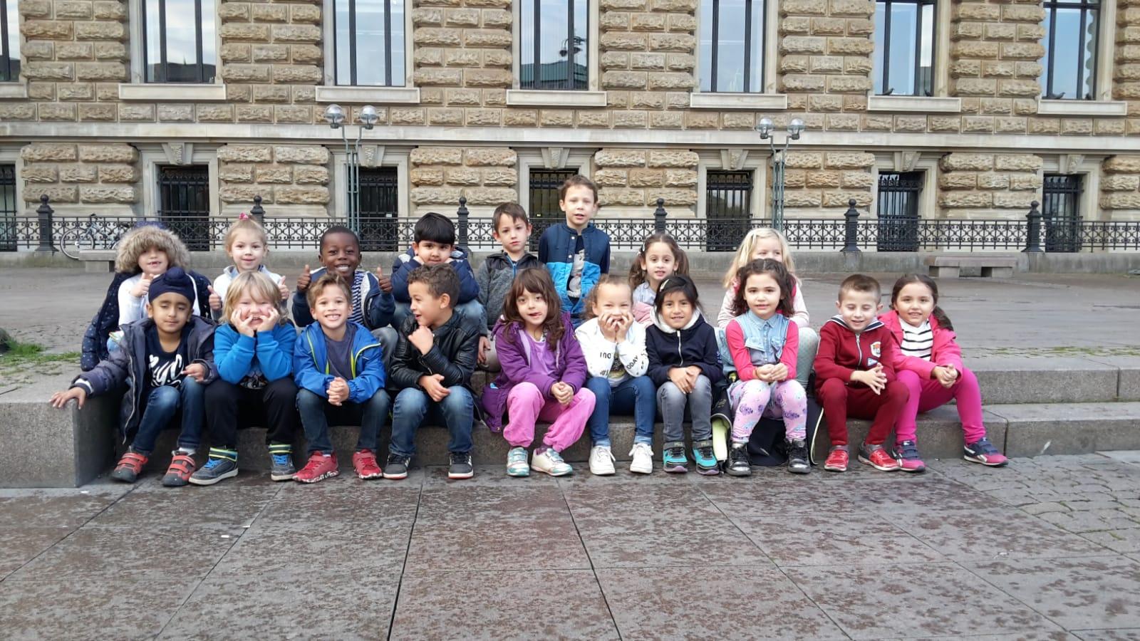 Die Vorschule im Hamburger Rathaus