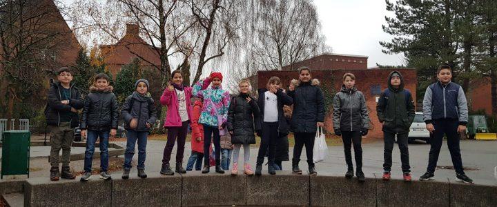 Die Klasse 4b besuchte die Stadtteilschule Helmuth Hübener