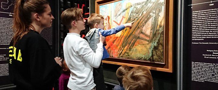 Kunstausflug der Klasse 1a